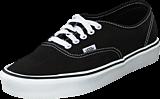 Vans - Authentic Lite + (Canvas) Black/White