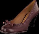 Clarks - Bombay Lights Burgundy Leather