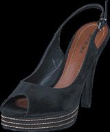 Shoe Biz - Camurca Sandal Black Black