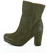 Marc O'Polo - Mid Bootie Nubuck Dark Grey