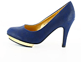 Sugarfree Shoes - Emily Navy
