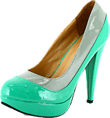 Sugarfree Shoes - Gladys Mint Green