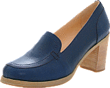 Swedish Hasbeens - Chunky Loafer Dark Blue