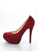 Sugarfree Shoes - Bowie Dark Red / Suede