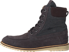 Lacoste - ECLOSE 3 Black Suede/Canvas
