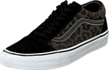Vans - U Old Skool Waxed Leopard