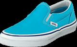 Vans - K Classic Slip-On Cyan Blue/True