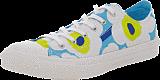 Converse - AS Premium Marimekko Wmns Ox White/Blue/Lime