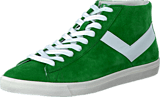 Pony - Topstar Hi Suede Green White