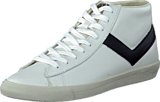 Pony - Topstar Ox Leather White Black