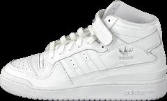 adidas Originals - Forum Mid White / White / White