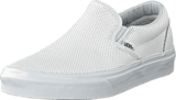 Vans - Classic Slip-On (Perf Leather) White