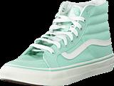 Vans - SK8-Hi Slim Gossamer Green/Blanc De Blanc