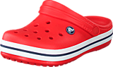 Crocs - Crocband Kids Flame/White