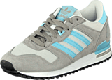 adidas Originals - Zx 700 Grey/Blush Blue/Ftwr White