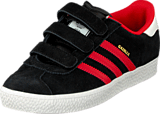 adidas Originals - Gazelle 2 Cf C Black/Red/Ftwr White
