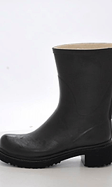 Ilse Jacobsen - 3/4 Rubberboot R36 Black