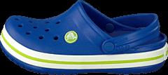 Crocs - Crocband Kids Cerulean Blue-Volt Green