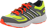 adidas Sport Performance - Response Cushion 22 K Electricity/Met. Silver/Red