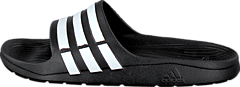 adidas Sport Performance - Duramo Slide Black 1/White/Black 1