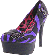 Abbey Dawn - Zebbie Buckle Platform
