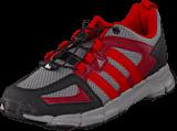adidas Sport Performance - Trailkid 2 Sl K Core Black/Scarlet/Burgundy