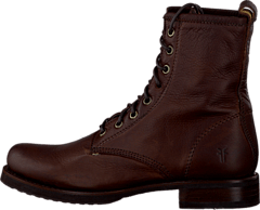 Frye - Veronica Combat Dark Brown
