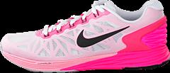 Nike - Wmns Nike Lunarglide 6 White/Black-Pink Pow-Spc Pink