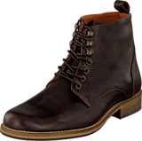 Bianco - Lether Dressy Boot Dark Brown