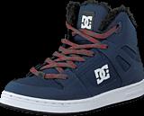 DC Shoes - Kids Rebound Wnt Shoe Navy/Grey