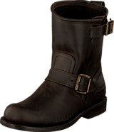 PrimeBoots - Engineer T Low-40 Old crazy testa + brass