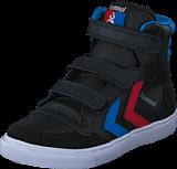 Hummel - Stadil Jr Leather High Black/Blue/Red/Gum
