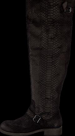 Billi Bi - Black Anaconda Suede 200 Black