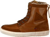 Le Coq Sportif - Ancelina Mid Plus Leather Ginger Bread