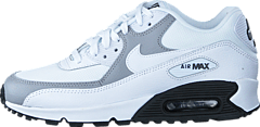 Nike - Wmns Air Max 90 White/White-Wolf Grey-Black