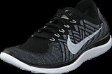 Nike - Nike Free 4.0 Flyknit Black/Wolf Grey