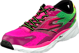 Skechers - Go Run 4 Ride Hot pink/lime