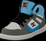 DC Shoes - Toddl. Rebound Ul Shoe Grey/Grey/Blue