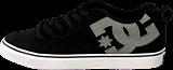 DC Shoes - Court Vulc Se Shoe Black/Grey/Black
