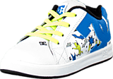 DC Shoes - Toddl. Court Gfk Elastic Ul White/Blue Print