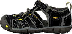 Keen - Seacamp II Cnx Toddler Black/Yellow
