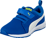 Puma - Carson Runner V Kids Strong Blue-White