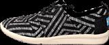 Toms - Del Rey Sneaker Black tribal woven
