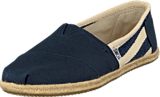 Toms - University Classic Wmn Navy Stripes