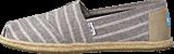 Toms - Seasonal Classics Brown Metallic Stripe