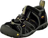 Keen - Seacamp II Cnx Black/Yellow