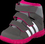 adidas Sport Performance - Winter Mid I Cinder/Bold Pink/Ftwr White