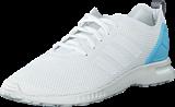 adidas Originals - Zx Flux Smooth W Core White/Blush Blue