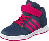 adidas Sport Performance - Jan Bs 2 Mid C Midnight Grey/Super Pink/Pink