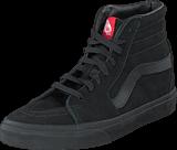 Vans - SK8-Hi Black/Black (Suede)